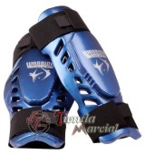Canilleras Warrior azules