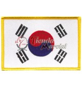 Parche bandera Corea