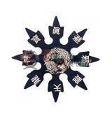 Shuriken 8 puntas - Caucho