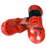 Guantes Warrior rojos