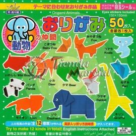 Papel Origami 5 - 50 hojas
