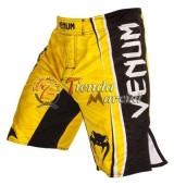 Pantaloneta Venum Carlos Condit - Amarilla