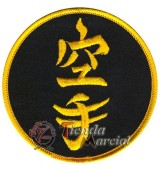 Parche Karate - Kanji