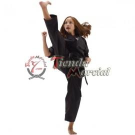 Uniforme negro - Tai Jutsu, Karate, Kenpo