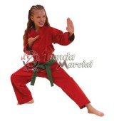 Uniforme rojo - Karate, Kunoichi